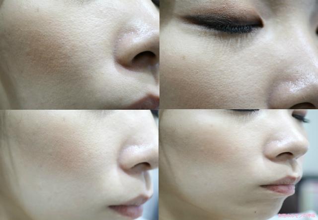 ホワイピュア使用後の肌の変化