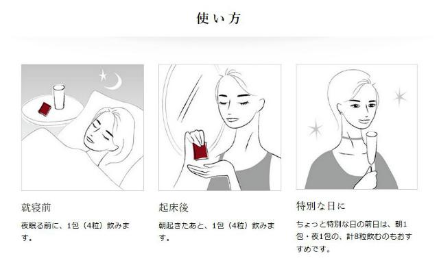 エイジストサプリ飲み方,使用方法