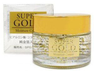 プレスカワジャパンスーパーゴールド 純金箔入り保湿クリーム 50g
